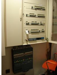 Cuadro eléctrico de Home Systems en el Hotel Meliá Las Palmas