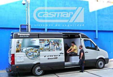 Showroom de Panasonic en Casmar
