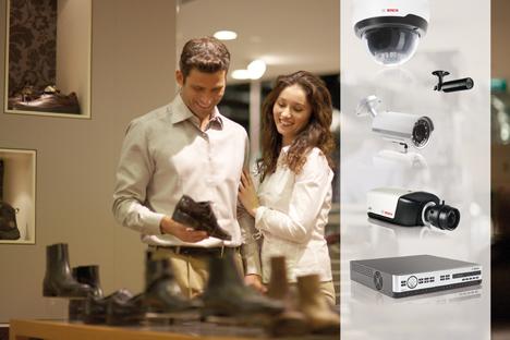 Sistemas de seguridad de Bosch para pequeños comercios