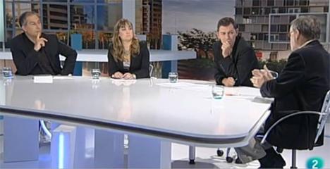 Imagen del programa sobre domótica realizado en La 2 de TVE