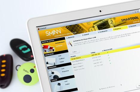Software de gestión de instalaciones Smartool de Sminn