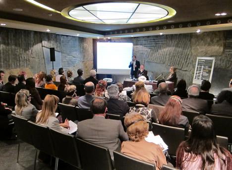 Presentación de Light & Building 2012 en Madrid