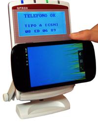 Lector de tarjetas Xacom QP3000