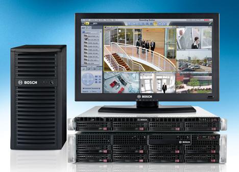 Sistema de grabación y gestión IP de Bosch