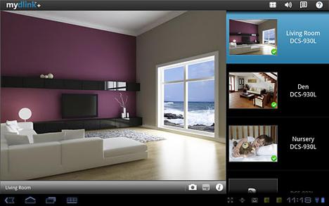 Sistema de videovigilancia presentado por D-Link