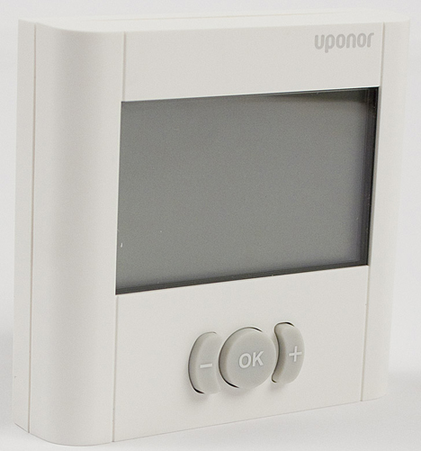 Nuevo termostatos digitales de Uponor