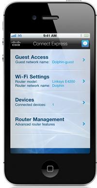 Aplicación móvil de Cisco