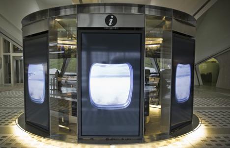 Medidor de audiencia digital en el aeropuerto de Bilbao