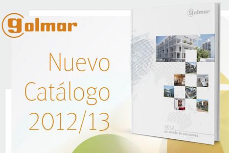 Nuevo catálogo de Golmar