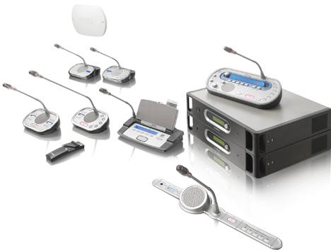 Unidad de control de conferencias de Bosch