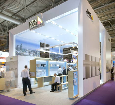 Stand de Axis en SICUR 2012