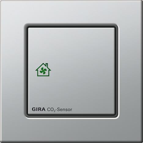 Sensor de CO2 con versión autónoma y versión KNX de GIRA