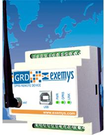 Dispositivo GRD3305 para lectura remota, de Exemys