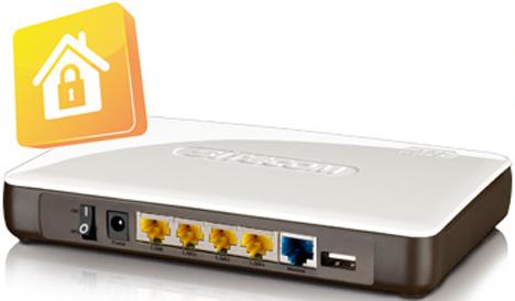 Router inalámbrico Gigabit con Sitecom Cloud Security