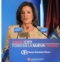 Ana Botella en la Tribuna Smart City del Nueva Economía Forum