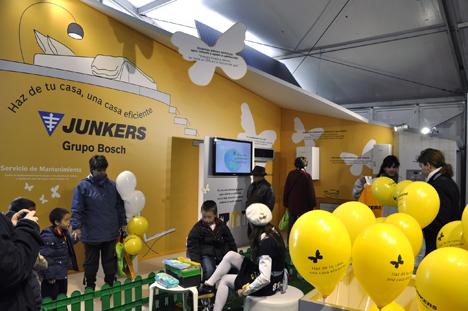 Casa Eficiente de Junkers en Madrid EcoCity