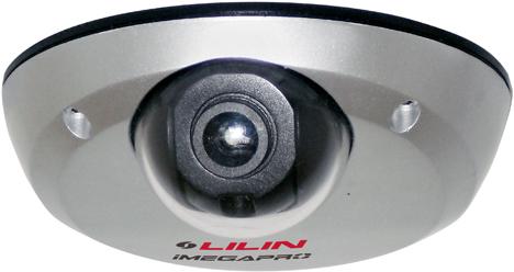 Uno de los nuevos mini-domos IP de Lilin