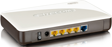 Wireless Gigabit Router N300 X4 WLR-4000 de Sitecom