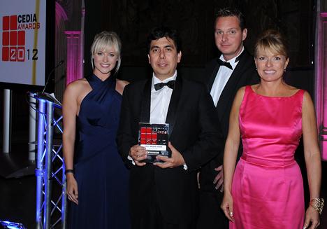 Premio CEDIA 2012 a Smart Business