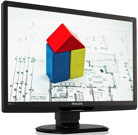 Monitor LCD 221S3UCB con conectividad USB