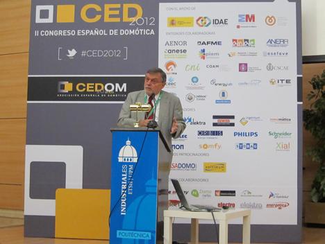 Jordi Ludevid, Presidente del Consejo Superior de los Colegios de Arquitectos de España