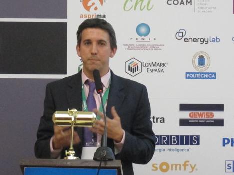 Luis Catalán, Responsable de Domótica e Inmótica KNX de Schneider Electric