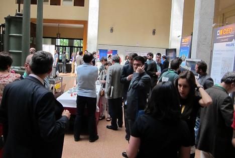 Pausa para comer en CED 2012