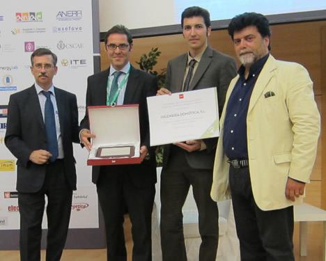 Ingeniería Domótica gana el premio a la mejor instalación domótica de la Comunidad de Madrid