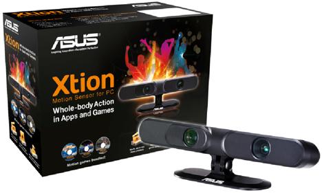 Sensor Xtion de Asus para PC