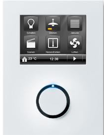 Controlador ambientes de Siemens ConTouch