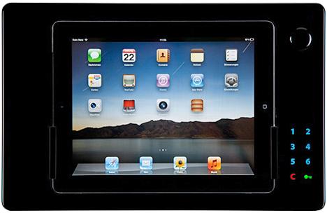 iDock Touchcode de iRoom para iPad