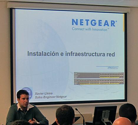 Ponencia Netgear sobre Redes de Datos