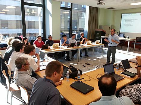 Grupo de expertos reunidos por el proyecto MultiPartes