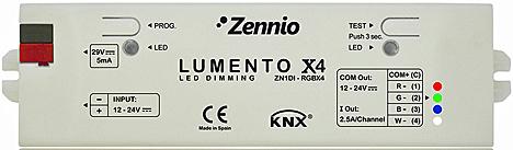 Lumento X4 de Zennio
