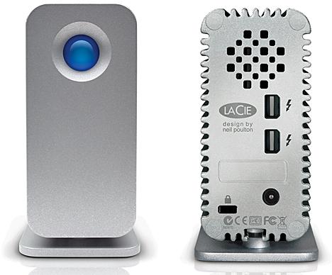 Disco duro portátil de LaCie con tecnología Thunderbolt