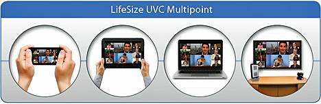 MCU basada en software de LifeSize