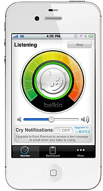 Aplicación para WeMo Baby de Belkin
