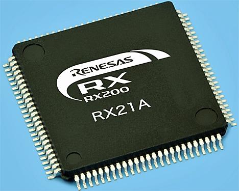 Microcontrolador RX21A para contadores inteligentes