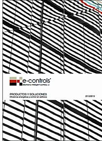 Catálogo de Productos y Soluciones de E-Controls