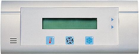 Teclado para el control de los sistemas Alder Venticontrol