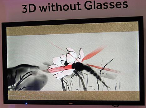 Televisor 3D sin gafas de Haier