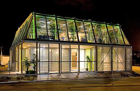 Casa Canopea del equipo Rhône Alpes, ganadora del Solar Decathlon Europe