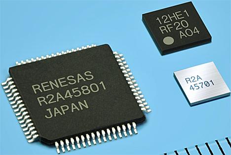 Solución para la recarga inalámbrica con tecnología NFC de Renesas