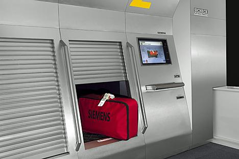 Sistema de autofacturación de equipajes Sicheck de Siemens