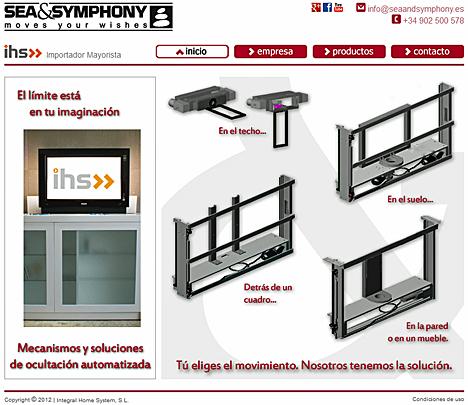 Web de Sea and Symphony