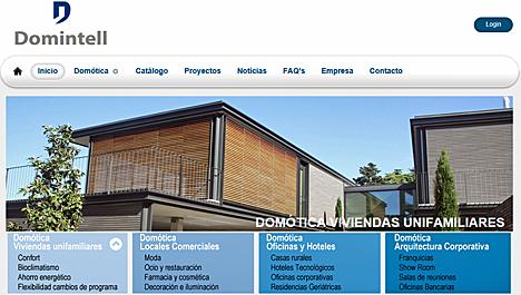 Nueva página web de Domintell