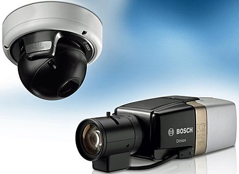 Cámara 1080p de Bosch Security Systems