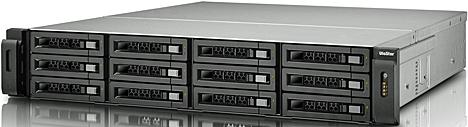 Grabadora NVR VioStor VS-12164U-RP Pro de QNAP Security