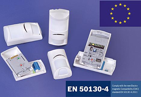 Detectores de movimiento de Bosch Security Systems