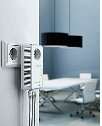 Adaptador PLC dLAN 500 AV Wireless+ de Devolo